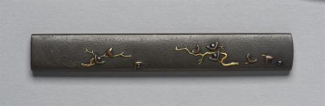 Ichinomiya Nagatsune, Kodzuka (rękojeść nożyka) - z motywem gałązek z owocami