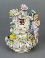 Nakrywa wazonu w stylu rokoko