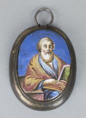 Miniatura rosyjska św. Mateusz