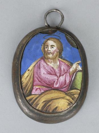 nieznany, Miniatura rosyjska św. Marek