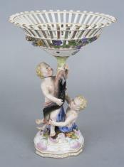 Porcelanowy koszyk na owoce