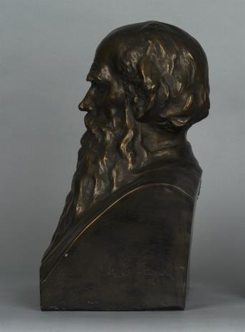 Stanisław Czapek, Popiersie Lwa Tołstoja
