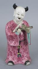 Chińczyk z lokami - jeden z taoistycznych geniuszy Jedności i Harmonii