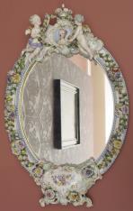 Lustro w stylu Ludwika XV