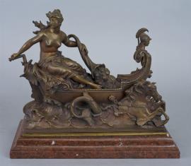 Bogini w łodzi