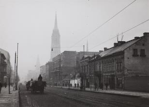 Łódź. Ulica Piotrkowska