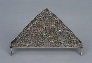 Serwetnik srebrny