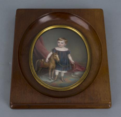 Richard Schwager, Miniatura: Chłopiec z koniem
