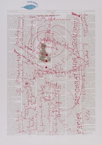 Joseph Beuys, Apel o alternatywę [Aufruf zur Alternative]