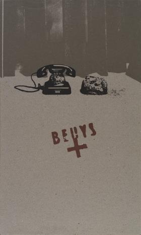 Joseph Beuys, Telefon-Ziemia [Erdtelephon]