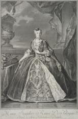 Portret Marii Józefiny, królowej Polski, żony Augusta III