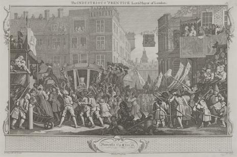 Ernst Ludwig Riepenhausen, Pilny uczeń zostaje burmistrzem Londynu
