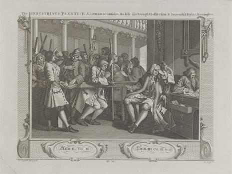 Ernst Ludwig Riepenhausen, Pilny uczeń zostaje radnym miejskim - leniwy uczeń zostaje oskarżony