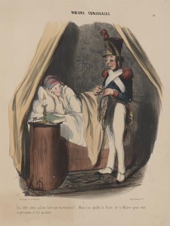 Honoré Daumier, Zazdrosny mąż