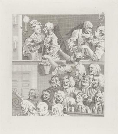 Ernst Ludwig Riepenhausen, Rozbawiona publiczność