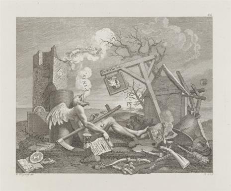 Ernst Ludwig Riepenhausen, Alegoria końca świata