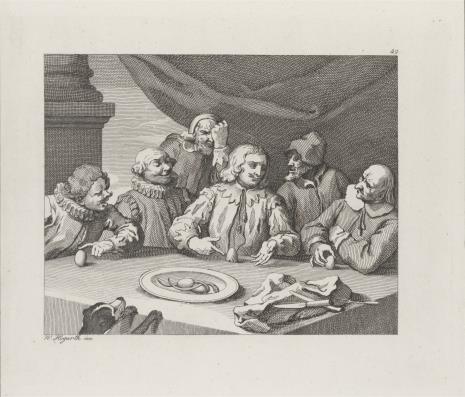Ernst Ludwig Riepenhausen, Jajko Kolumba