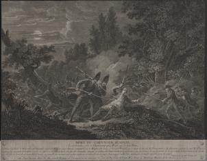 Śmierć kawalera d'Assas pod Wesel w 1760