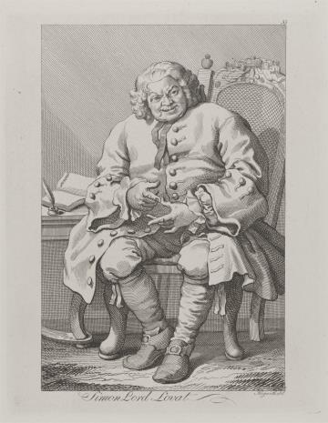 Ernst Ludwig Riepenhausen, Simon Lord Lovat