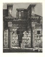 Rzym - widok Poro di Nerva