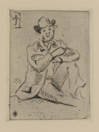 Paul Cezanne, Portret Armanda Guillaimina