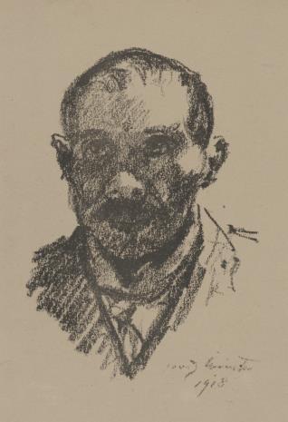 Lovis Corinth, Autoportret
