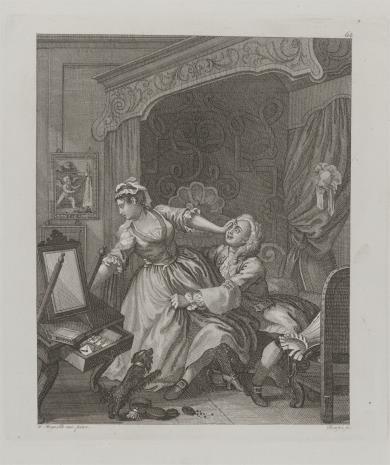 Ernst Ludwig Riepenhausen, Scena erotyczna