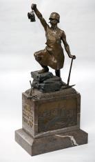 Statuetka górnik