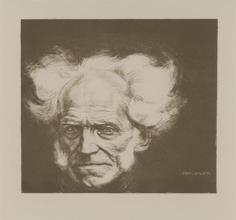 Karl Gustav Friedrich Bauer, Głowa starego mężczyzny