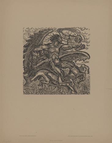 Hans Trudel, Alegoria wojny