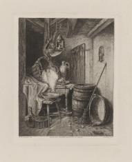 Wnętrze kuchni ze stołem