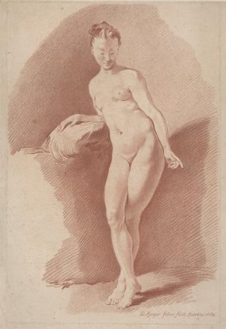 Daniel młodszy Berger, Akt kobiecy