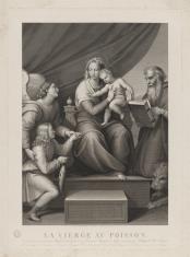 Matka Boska w otoczeniu anioła, Tobiasza, św. Hieronima