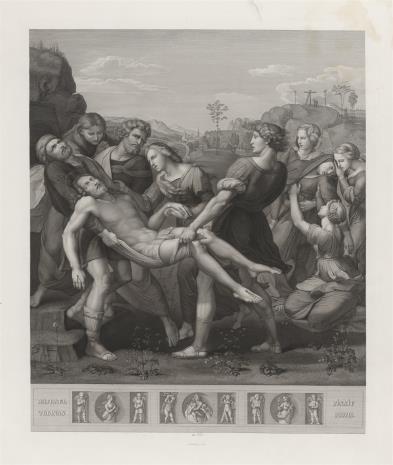Samuel Amsler, Złożenie Chrystusa do grobu