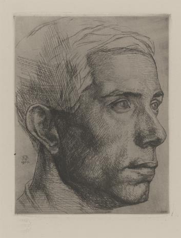 Friedrich Barth, Głowa mężczyzny