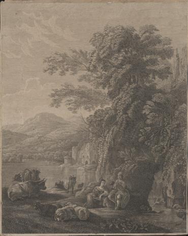 Jacques Firmin Beauvarlet, Scena pasterska