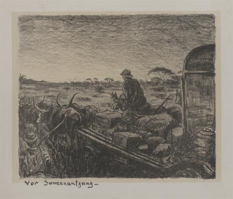 Dieter Aschenborn, Wóz zaprzęgnięty w woły