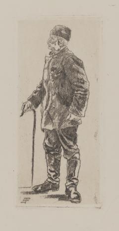 Erich Fuchs, Stary wojskowy