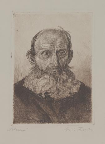 Erich Fuchs, Popiersie starca z brodą