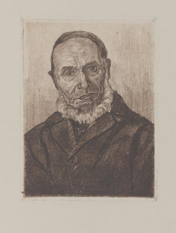 Erich Fuchs, Popiersie mężczyzny z brodą