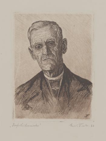 Erich Fuchs, Portret wiejskiego nauczyciela