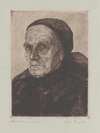 Erich Fuchs, Stara wieśniaczka