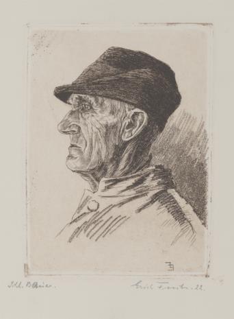 Erich Fuchs, Wieśniak śląski
