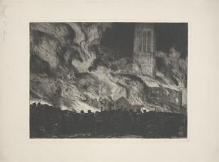 Pożar katedry