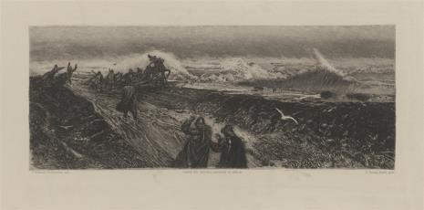 Joachim Hoffmann-Fallersleben, Zdobycie okopów