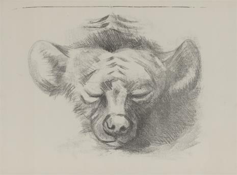 Ludwig Heinrich Jungnickel, Głowa psa
