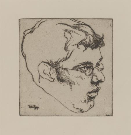 Willi Egler, Głowa mężczyzny