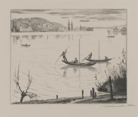 Jezioro koło Monachium