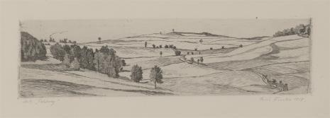 Erich Fuchs, Droga przez pola