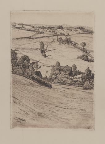 Erich Fuchs, Wieś Bärndorf[?]